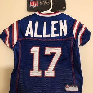 JOSH ALLEN #17 Buffalo Bills 2020 NFLPA Dog Jersey